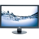 """AOC ENTERTAINING e2752Vh 27"""" LED LCD Monitor - 16:9 - 5 ms - Adjustable Display Angle - 1920 x 1080 - 16.7 Million Colors - 300 cd/m² - 20,000,000:1 - Speakers - DVI - HDMI - VGA - Black"""
